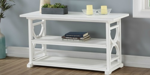 Better Homes & Gardens Console Table Only $78 Shipped (Regularly $184)