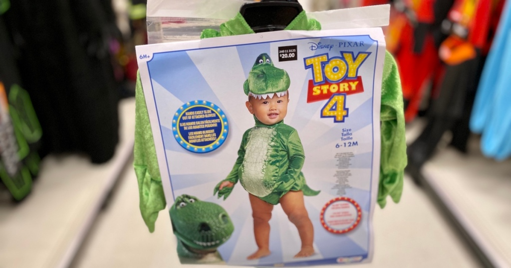 baby toy story 4 rex costume