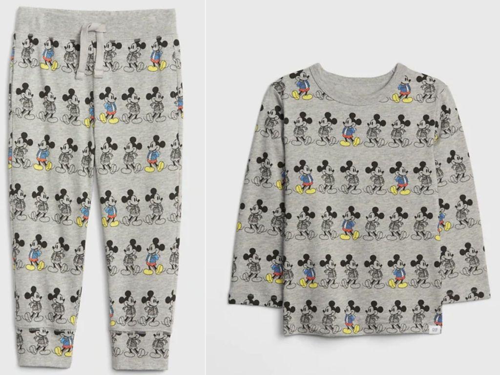 babyGap Mickey Mouse sweatshirt and pants
