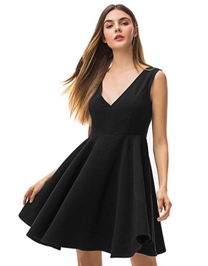 single black dress messBebe