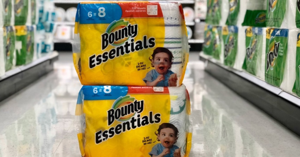 bounty essentials at store