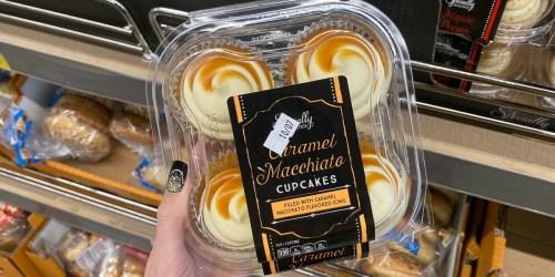 Move Over Starbucks! ALDI is Selling Caramel Macchiato Cupcakes