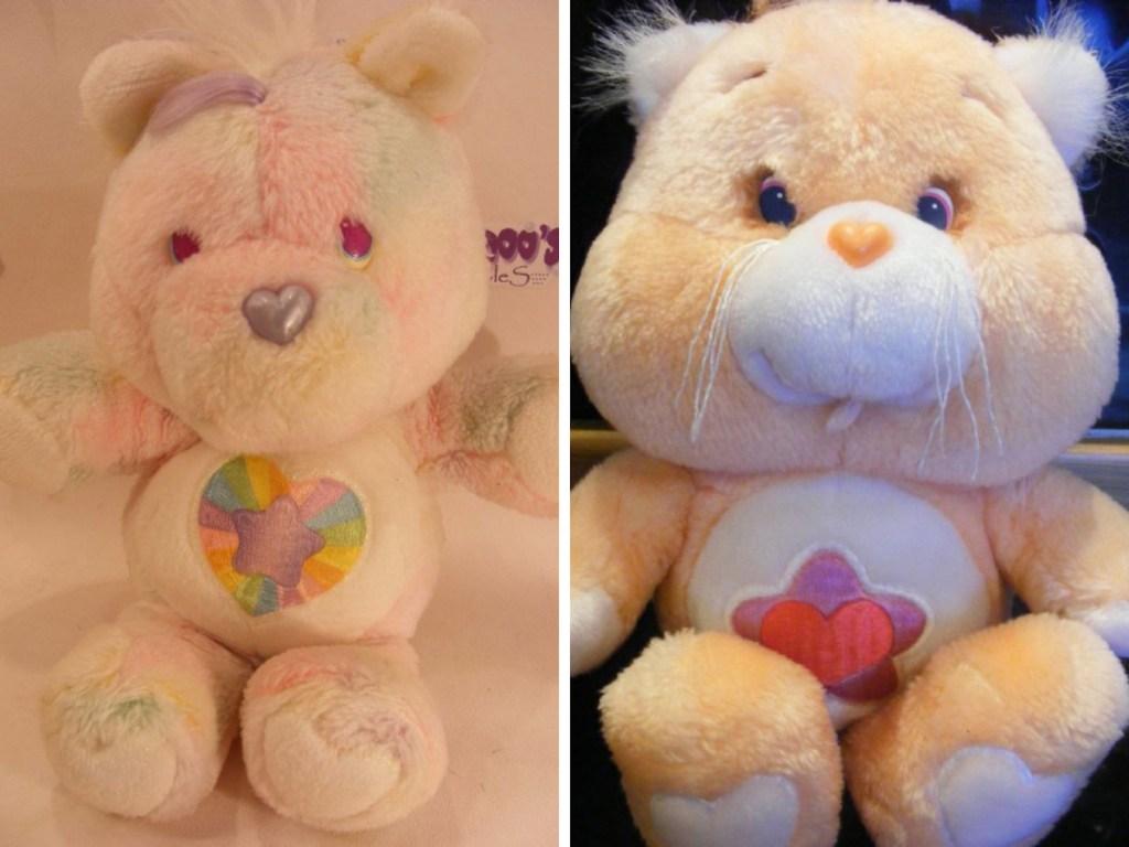 vintage pink care bears