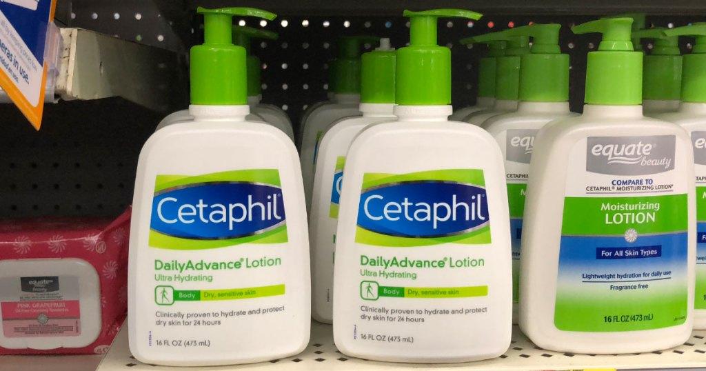Cetaphil Daily Advance Lotion 16 oz bottle on shelf