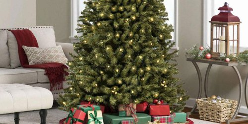 Pre-Lit 6′ Christmas Tree Only $65.70 Shipped (Regularly $222)