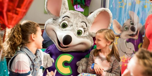 $5 Off $25+ Chuck E. Cheese Coupon