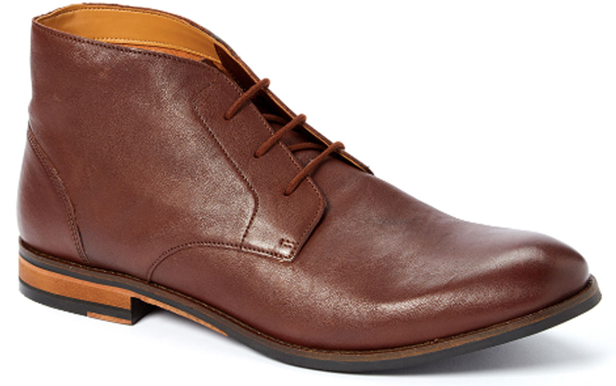 clarks men british top leather chukka boots