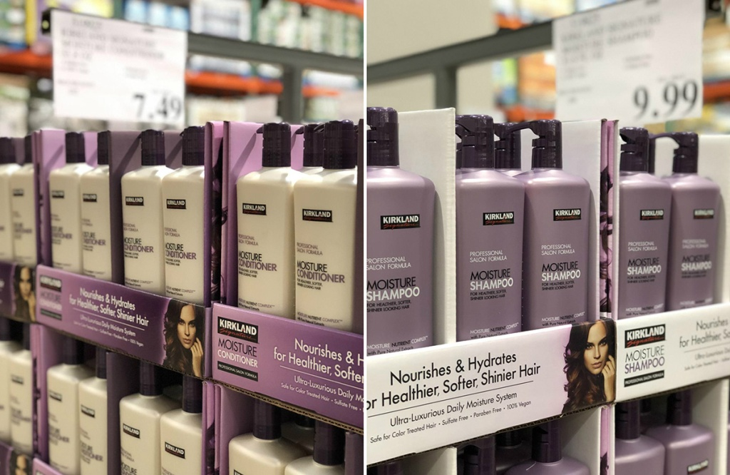 costco kirkland signature shampoo and conditioner is rumored to be made by pureology