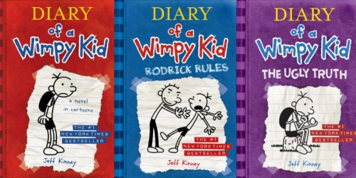 Diary of a Wimpy Kid eBooks Just 99¢ Each at Amazon