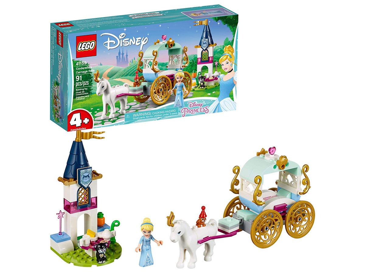 LEGO Disney Princess Carriage Building Set stock image