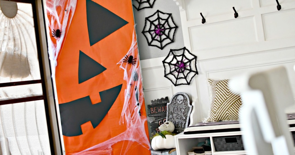 diy dollar tree halloween front door