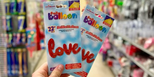 Foil Balloons Only $1 at Dollar Tree