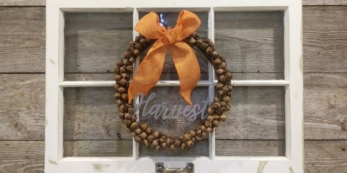 Dress Up Your Fall Decor with a $2 DIY Wreath
