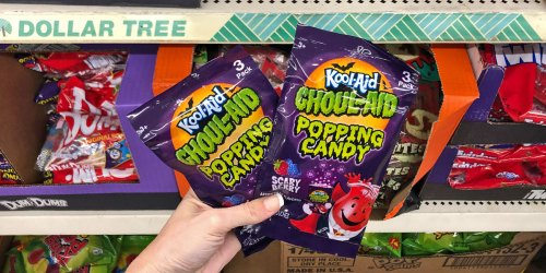 Kool-Aid Ghoul-Aid Popping Candy 3-Packs Only $1 at Dollar Tree