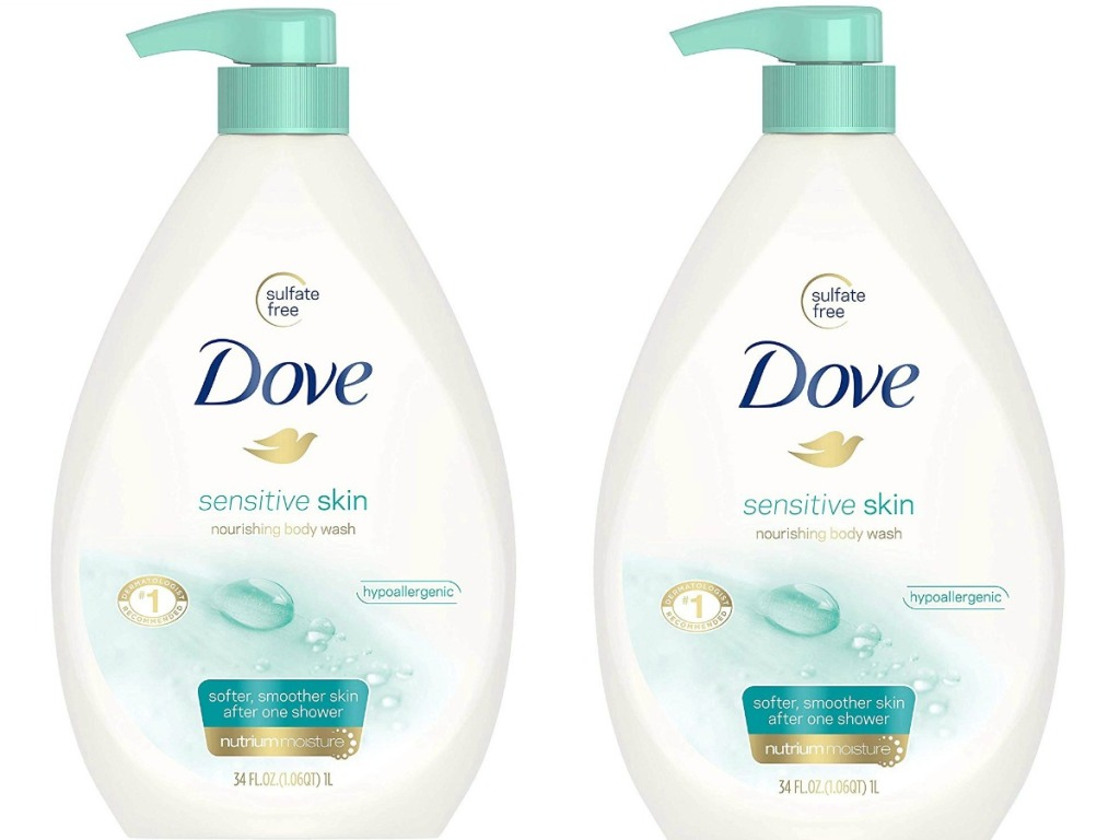 Huge Dove Body Wash For Sensitive Skin Only 6 Shipped At Amazon Hip2save
