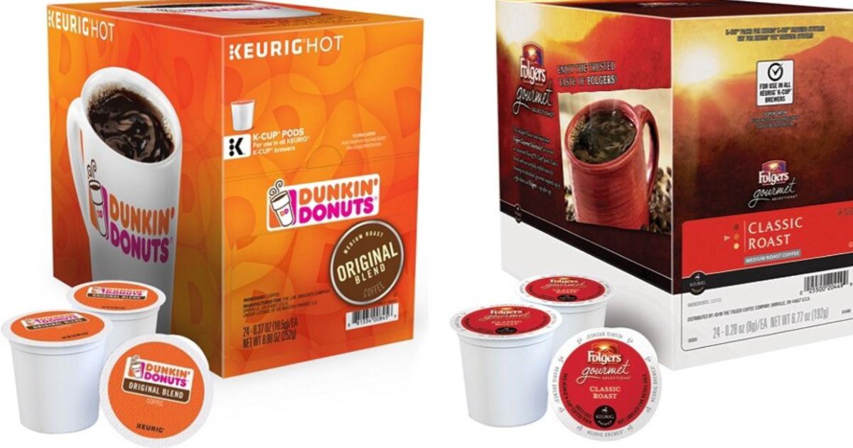 keurig and folgers k-cups