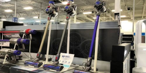 Dyson Allergy Cordless Vacuum Cleaner Just $189.99 Shipped (Regularly $400) | Includes Bonus Tools