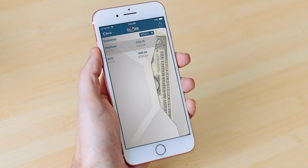 envelope budget system on hip2save app