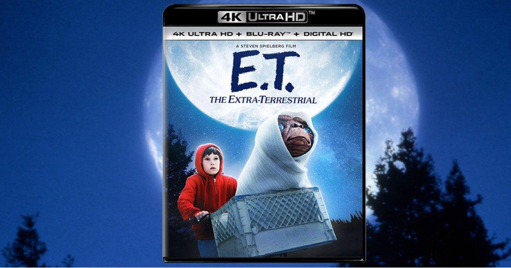 E.T. The Extra Terrestrial movie 4k ultra HD