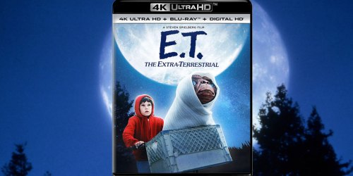 E.T. The Extra-Terrestrial Movie 4K Blu-ray Combo Pack Only $10 at Amazon