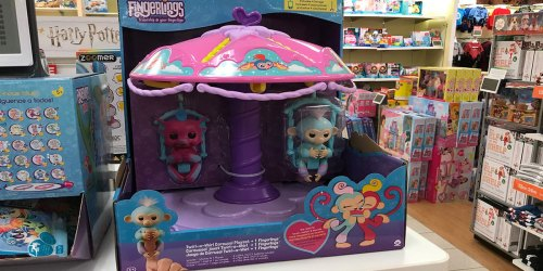 WowWee Fingerlings Carousel Only $5.99 (Regularly $30) + Free Shipping for Kohl's Cardholders