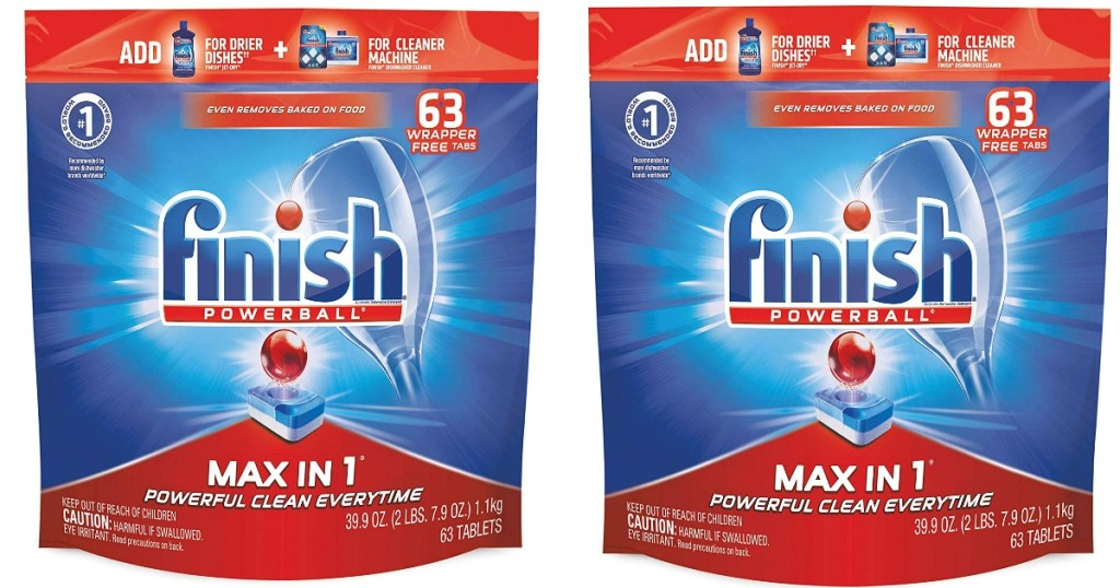 finish powerball max in 1 detergent