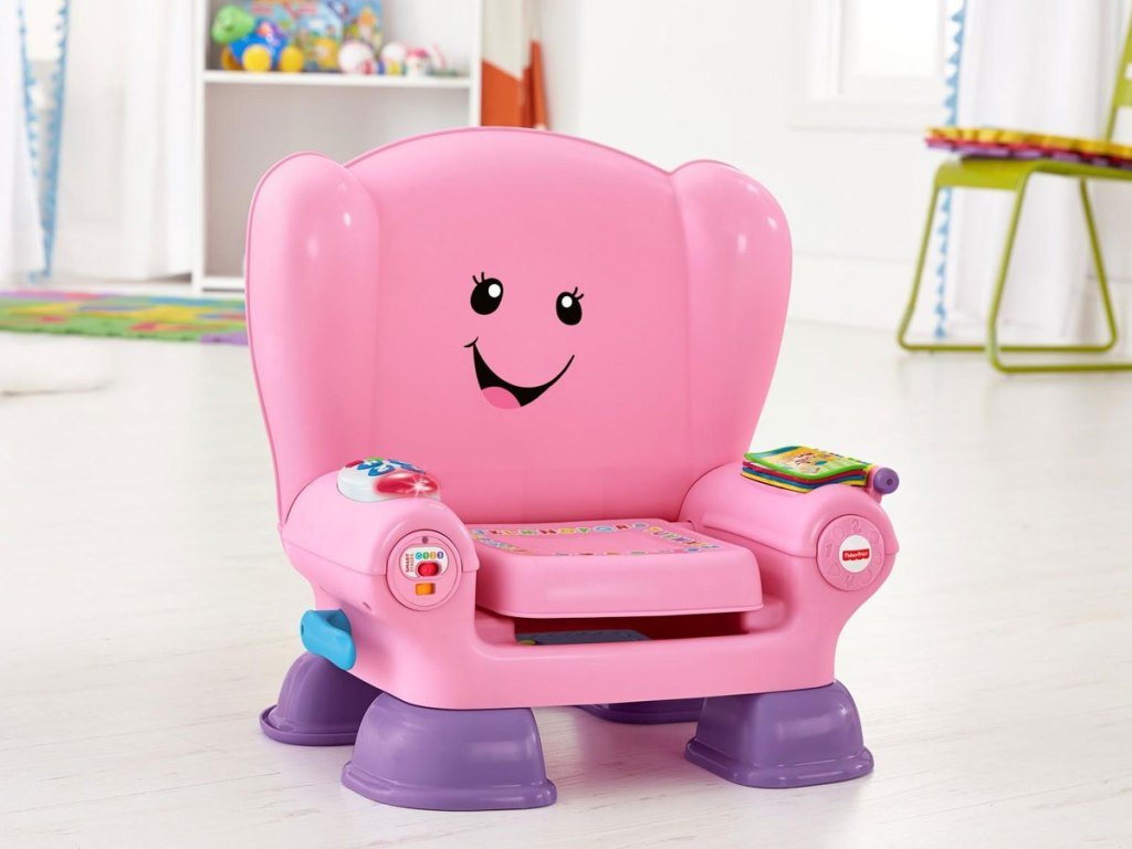 Fisher Price Laugh and Learn Smart Chair in Pink