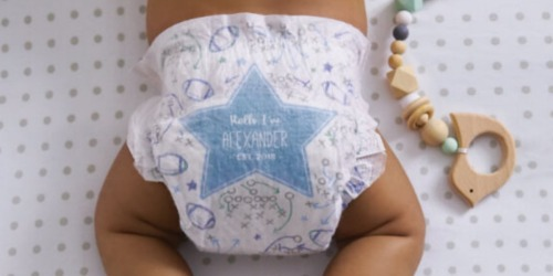 FREE Personalized Huggies Diaper Bundle for Expectant Moms | Includes Custom Diapers, Wipes & More