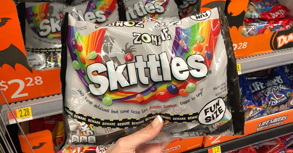 Fun-size Zombie Skittles