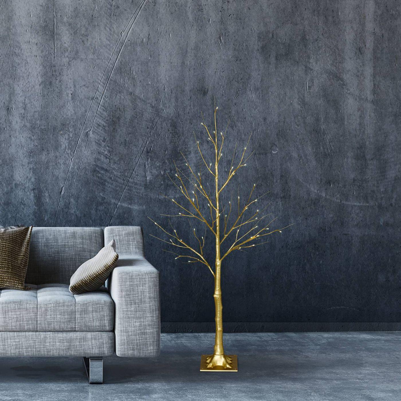 gold birch tree