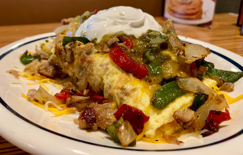 Gomez Green Chile Omelette from IHOP