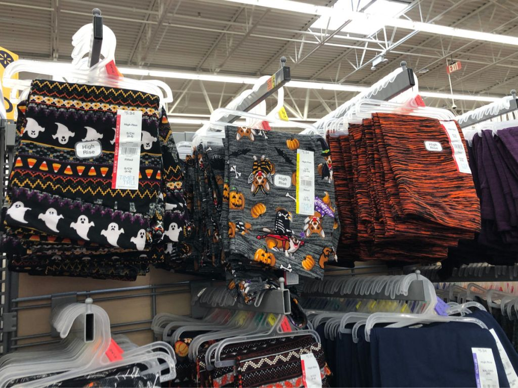 halloween themed leggings at walmart