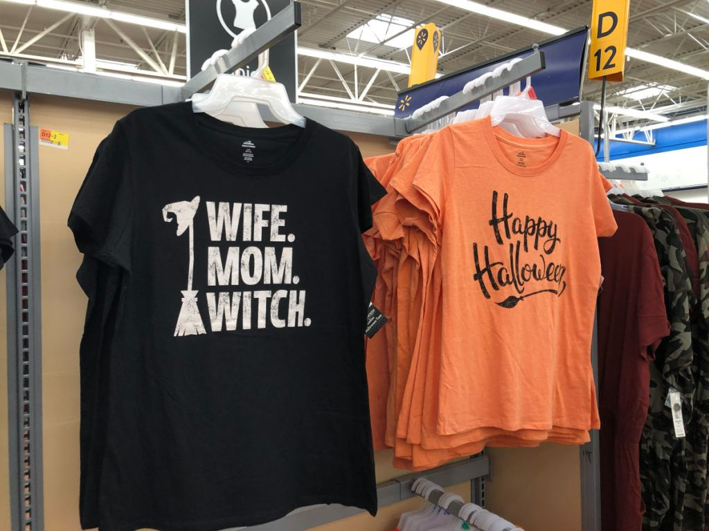 Fall Halloween Themed Tees And Leggings Under 6 At Walmart Hip2save