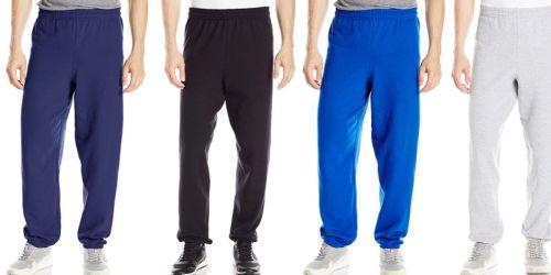 Hanes Men's EcoSmart Fleece Sweatpants as Low as $5.50 on Amazon (Regularly $12)