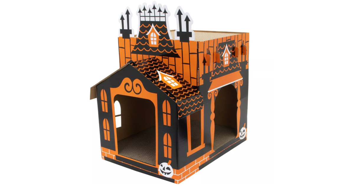 Deluxe Haunted cat mansion