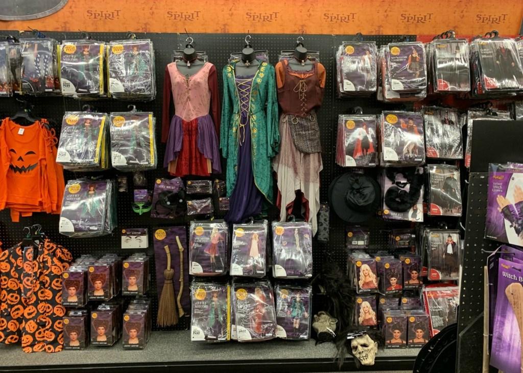 hocus pocus collection at Spirit Halloween store