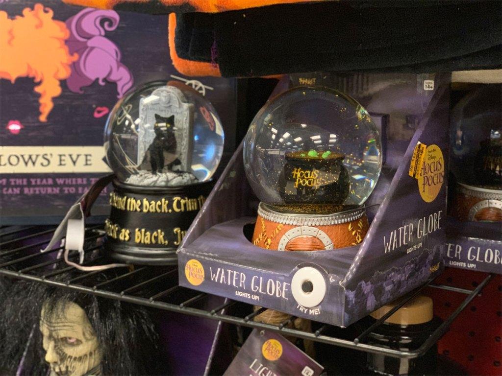 disney hocus pocus water globe