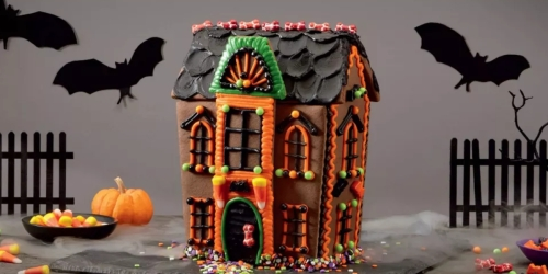 Target is Selling Halloween Cookie House Kits For Under $10
