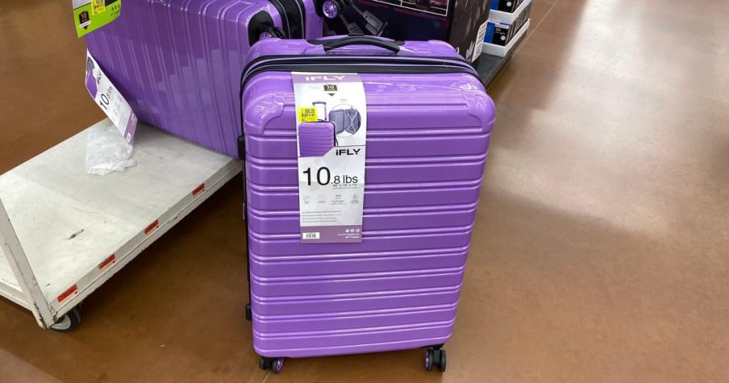 ifly purple luggage at walmart