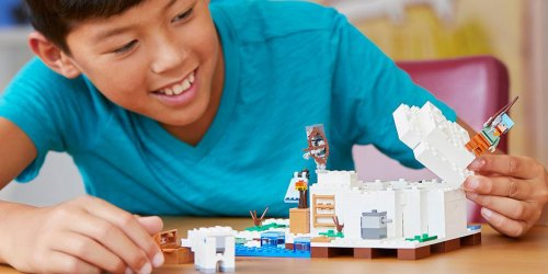 LEGO Minecraft The Polar Igloo Building Kit Only $17.99 (Regularly $30)