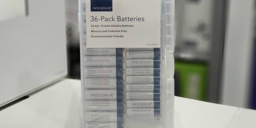 Insignia 36-Pack AA and AAA Batteries Only $6.99 at Best Buy (Regularly $14)