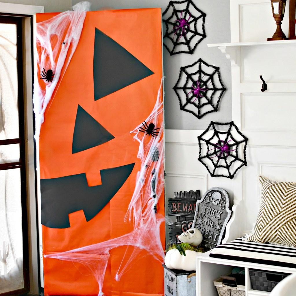 instagram jack-o-lantern front door