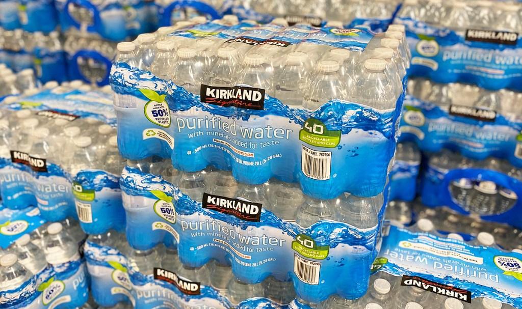 kirkland bottled water