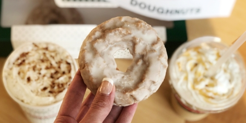 Krispy Kreme's Pumpkin Spice Cake Doughnuts and Lattes are Back for a Limited Time