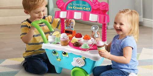 LeapFrog Scoop & Learn Ice Cream Cart Only $29.82 Shipped at Amazon (Regularly $40)