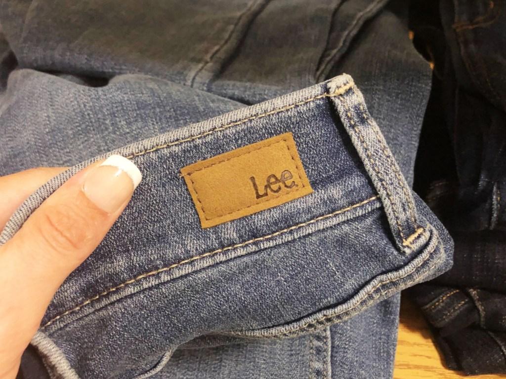 lee jeans at kohl's