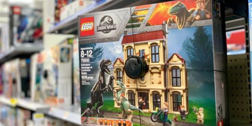 LEGO Jurassic World Indoraptor Rampage Set as Low as $30 at Walmart (Regularly $130)