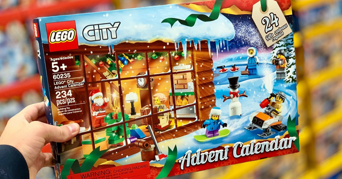 lego city friends advent calendars only at costco. Black Bedroom Furniture Sets. Home Design Ideas