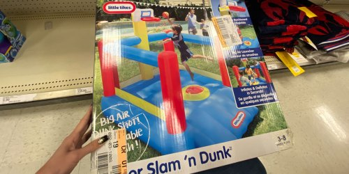 Little Tikes Slam 'n Dunk Bounce House Only $74.98 at Target (Regularly $250)