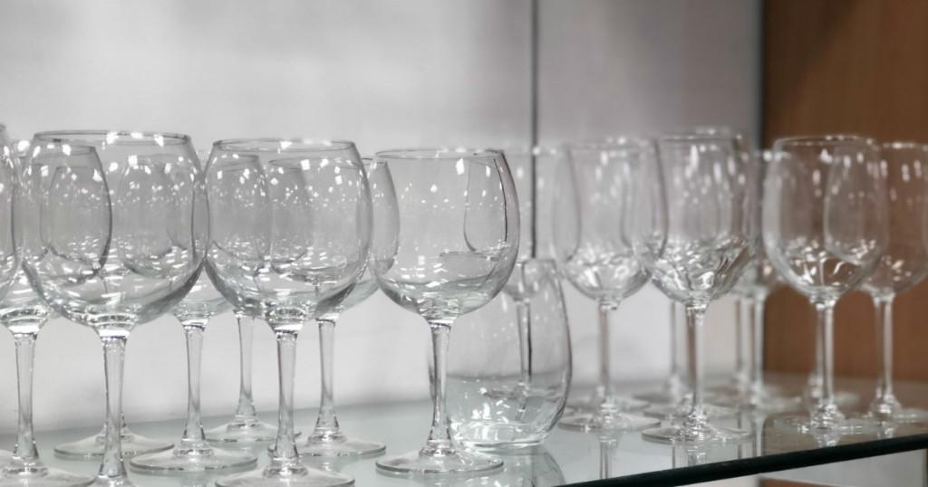 macys glassware set